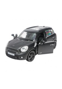 RMZ City 1:32 Die-cast Mini Cooper S Countryman Car Metallic Black Color Model