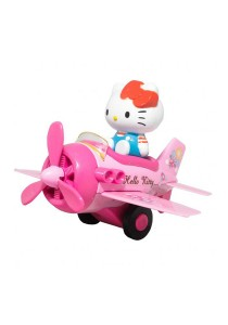 Sanrio Hello Kitty Die-Cast 4 inch Airplane Model - Pink