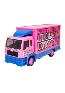 Sanrio Hello Kitty Die-Cast 6 inch Container Truck Pink Model