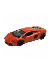 Welly 1:34-1:39 Die-Cast Lamborghini Aventador LP700-4 Car Orange Model Collection