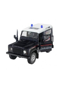 Welly 1:34-1:39 Die-Cast Land Rover Defender Car Navy Color Model Collection