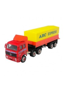 Welly 1:60 Die-Cast Mercedes-Benz Express Truck Red Color Model Collection