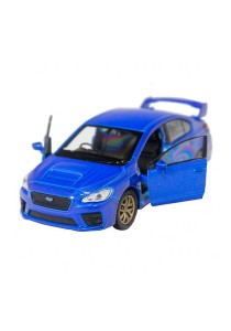 Welly 1:34-1:39 Die-Cast 2015 Subaru Impreza WRX STI Car Blue Model Collection