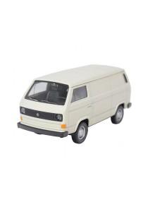 Welly 1:34-1:39 Die-Cast Volkswagen T3 Van Milk White Model Collection