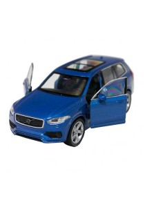 Welly 1:34-1:39 Die-Cast 2015 Volvo XC 90 Car Blue Color Model Collection