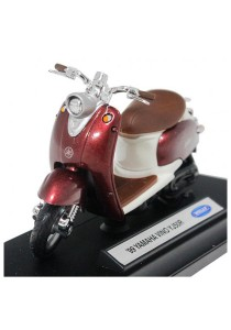 Welly 1:18 Die-Cast 99 Yamaha Vino YJ50R Motorcycle Brown Color Model Collection""