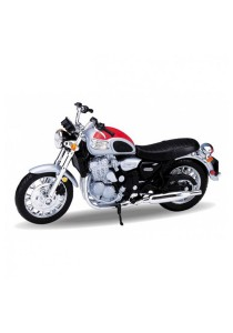 Welly 1:18 '02 Triumph Thunderbird Die-cast Motorcycle Model Collection (Red)