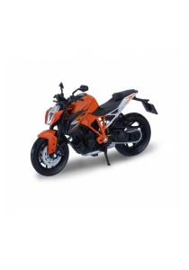 Welly 1:18 KTM 1290 Super Duke R Die-cast Motocycle Model Collection (Orange)