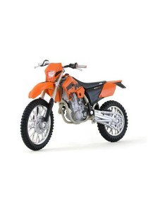 Welly 1:18 KTM 525 Exc Orange Motorcycle Model Collection (Blue)