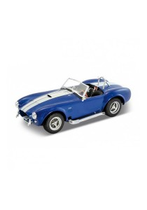 Welly 1:24 1965 Shelby Cobra 427 Sc Die-cast Car Model Collection (Blue)