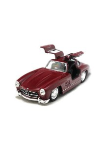 Welly 1:34-1:39 Mercedes-Benz 300SL Die-cast Car Model Collection (Red)