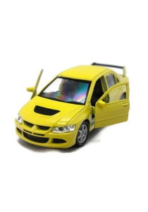 Welly 1:34-1:39 Mitsubishi Lancer Evolution Viii Die-cast Car (Yellow)