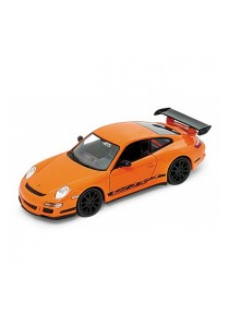 Welly 1:34-1:39 Porsche 911 (997) GT3 RS Die-cast Car Model Collection (Orange)
