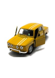 Welly 1:34-1:39 Renault R8 Gordini Die-cast 1964 Car Model Collection (Yellow)