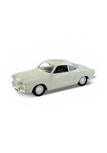 Welly 1:34-1:39 Volkswagen Karmann Ghia Coupe Die-cast Car Model Collection (White)