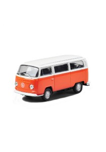 Welly 1:34-1:39 '72 Volkswagen Bus T2 Die-cast Model Collection (Orange)