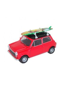 Welly 1:36 Mini Cooper 1300 Surfboard Die-cast Car Model Collection (Red)
