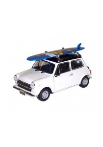 Welly 1:36 Mini Cooper 1300 Surfboard Die-cast Car Model Collection (White )