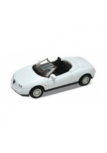 Welly 1:60 Alfa Romeo Spider Die-cast Car Model Collection (White)
