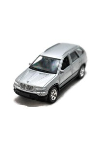 Welly 1:60 BMW X5 Die-cast car Model Collection Model Collection (Silver)