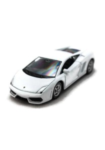 Welly 1:60 Lamborghini Gallardo LP 560-4 Die-cast Car Collection Model (White)