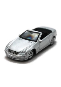 Welly 1:60 Mercedes-Benz Sl 500 Die-cast Car Model Collection (Silver)