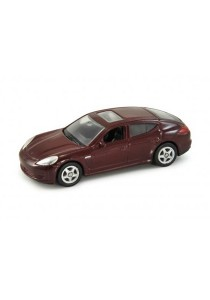 Welly 1:60 Porsche Panamera S Die-cast Car Model Collection (Red)