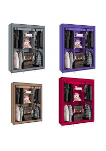 King Size Multipurpose 4 Hanging Cloths Wardrobe