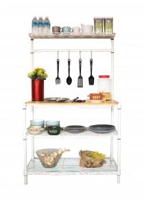 Vetop Storage Kitchen Bench - White