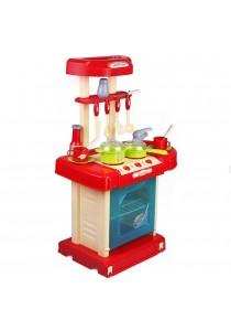 Children Kitchen Playset (Red)