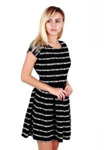 KM Lovely Lady Striped Dress