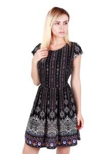 KM Paisley Print Dress