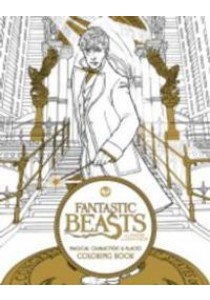 Fantastic Beasts and Where to Find Them : Magical Characters & Places Coloring Book (ACT CLR CS) ( by HarperCollins Publishers (COR) ) [9780062571359]