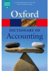A Dictionary of Accounting (5th) ( by Oxford University Press (COR) ) [9780198743514]
