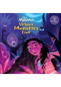 Where Monsters Live : Over 30 Tattoos! (Disney Moana) [9780736436496]