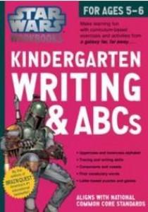 Kindergarten Writing & ABCs (Star Wars Workbooks) (CSM Workbook) [9780761178057]