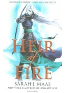 Heir of Fire ( Throne of Glass 3 )-- Paperback ( by Maas, Sarah J. ) [9781408839126]