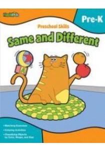 Same and Different Preschool Skills (CSM Workbook) ( by Conger, Holli (ILT) ) [9781411434264]