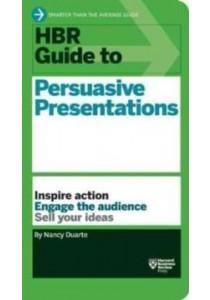 HBR Guide to Persuasive Presentations (Harvard Business Reveiw Guides) ( by Duarte, Nancy ) [9781422187104]