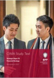 [Bpp Learning Media ] Cima F3 Financial Strategy : Study Text -- Paperback (Books Kinokuniya)