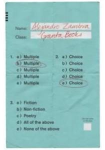 Multiple Choice -- Hardback ( by Zambra, Alejandro ) [9781783782697]