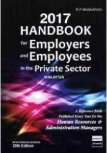 [R.P. Baskaran ] 2017 Handbook for Employers and Employees in The Private Sector Malaysia (Books Kinokuniya)