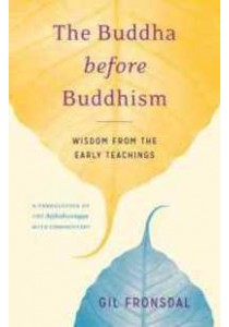The Buddha before Buddhism : Wisdom from the Early Teachings [9781611803242]