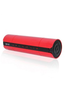 KR-8800 NFC Bluetooth Speaker With LED Display Red