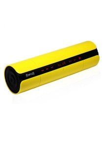 KR-8800 NFC Bluetooth Speaker With LED Display Yellow