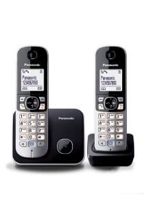 Panasonic Twin Cordless Phone [KX-TG6812MLB]