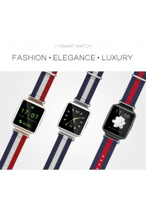 L1 Bluetooth Smart Watch with Fashional Wristband Support iOS Andriod