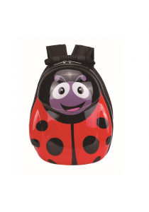 Hard Shell Backpack for Kids - Ladybug