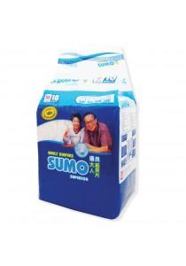 Sumo Adult Diaper M 10´s (Cloth-feel & Anti-bacteria)
