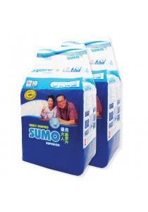 Sumo Adult Diaper M 10´s x 2 packs (Cloth-feel & Anti-bacteria)